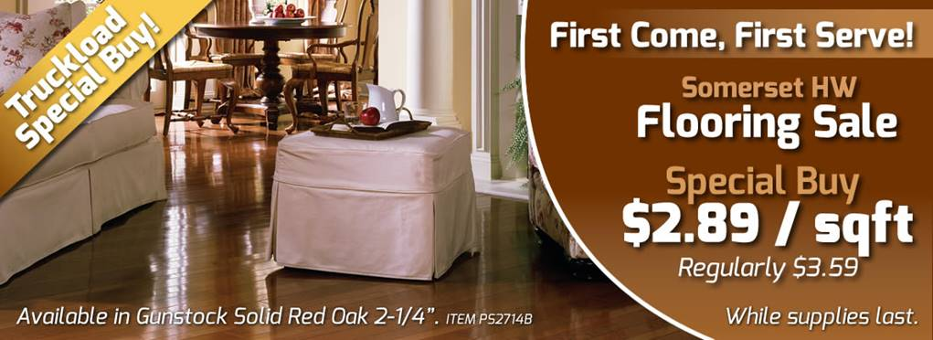 Somerset Hardwood Flooring Sale